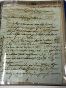 A COLLECTION OF TWELVE FRENCH ENTIRES. 1810-1827. MOSTLY RELATING TO BORDEAUX WINE.