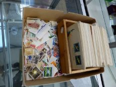 A COLLECTION OF 1950's AND 60's POLISH STAMP COVERS AND OTHER LOOSE POLISH STAMPS.