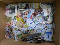 EXTENSIVE COLLECTION OF OVER 5000 LOOSE CIGARETTE, TRADE, AND BUBBLE GUM CARDS INC. A & BC GUM.