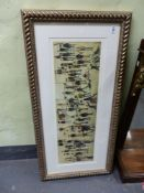 A COLOUR PRINT AFTER LOWRY WITH LIMITED EDITION NUMBER 28 X 80.