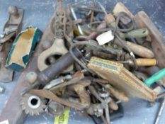 VARIOUS TOOLS, WOODWORKING ETC.