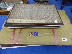 A QUANTITY OF ORIENTAL FOLIOS OF PRINTS.