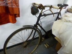 A VINTAGE BICYCLE.