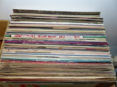 APPROX 65 LP'S AND VARIOUS SINGLES, MAINLY 1970/80. SOUL, JAZZ ETC.