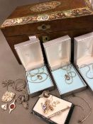 A SELECTION OF SILVER JEWELLERY TO INCLUDE THREE ALTHORP ESTATE PENDANTS, THREE MARCASITE BROOCHES