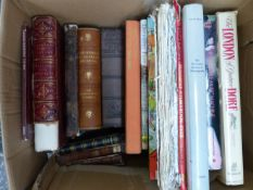 A LARGE QUANTITY OF BOOKS, TO INCLUDE HISTORY, BIOGRAPHIES ETC.