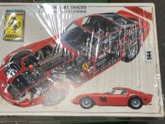 TWO KK JIGSAW BOXED 1000 PIECE PUZZLES OF A 1962 FERRARI 250 GTO AND OF A 1957 MASERATI 250F