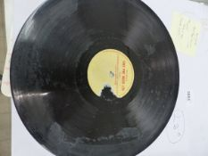 A RARE TONY PIKE MUSIC ACETATE - A COMPILATION OF UK ROCK N ROLL.
