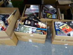 AN EXTENSIVE COLLECTION OF DVD, AND CDS. TO INCLUDE DISNEY, COMEDY, MOVIES TV DRAMAS ETC.