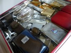 A COLLECTION OF VARIOUS CIGARETTE LIGHTERS.