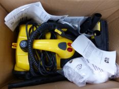 A LITTLE YELLO PRESSURE WASHER AS NEW AND UNUSED.