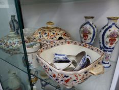 A QUANTITY OF ORIENTAL AND OTHER CHINA WARES.
