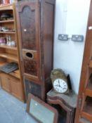 A FRENCH LONGCASE CLOCK.
