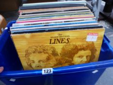 A QUANTITY OF LP RECORDS, TO INCLUDE ALBUMS BY THE WALKER BROS, SHADOWS, GENE PITNEY, PROCUL