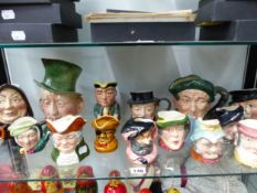 DOULTON AND OTHER CHARACTER JUGS