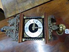 A DUTCH STAART TYPE CLOCK