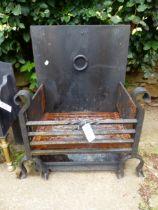 A FIRE BASKET