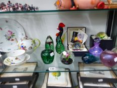 HEREND TEA WARES TOGETHER WITH CAITHNESS AND OTHER GLASS PAPERWEIGHTS
