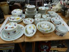 WORCESTER EVESHAM PATTERN OVEN TO TABLE WARES