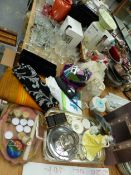 TEXTILES, MOBILE PHONES, DRINKING GLASS, TEA POTS AND ORNAMENTS