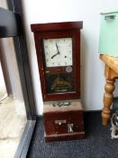 A NATIONAL TIME RECORDER Co. Ltd. CLOCKING IN CLOCK