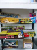 A STAR POND YACHT, CORGI, TRIANG AND MATCHBOX DIE CAST TOYS, HORNBY DUBLO AND KITAMASTER TRAINS