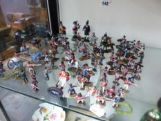A COLLECTION OF DEL PRADO NAPOLEONIC WAR PERIOD PAINTED LEAD SOLDIERS
