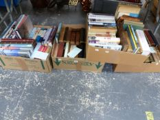 A COLLECTION OF ANTIQUE AND LATER BOOKS INC. MANY OF MILITARY INTEREST.