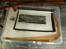 A LARGE COLLECTION OF 18th AND 19th CENTURY ENGRAVINGS AND OTHER PICTURES ETC.