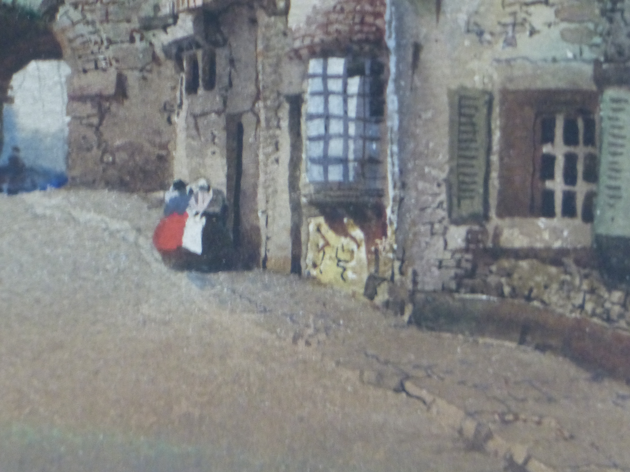 NOEL H LEAVER (1889-1951) A PAIR OF TOWN SCENES, SIGNED WATERCOLOURS. 26 x 18 cm (2) - Image 6 of 9