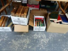 A QUANTITY OF ANTIQUARIAN AND OTHER BOOKS.