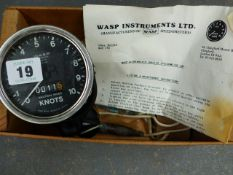 A SHIPS LOG BY WASP INSTRUMENTS.