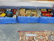 A QUANTITY OF BOXED DIE CAST AND OTHER VEHICLES BY LLEDO, CORGI, AND OTHERS.