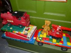 A QUANTITY OF VINTAGE TOYS INC. TRIANG.