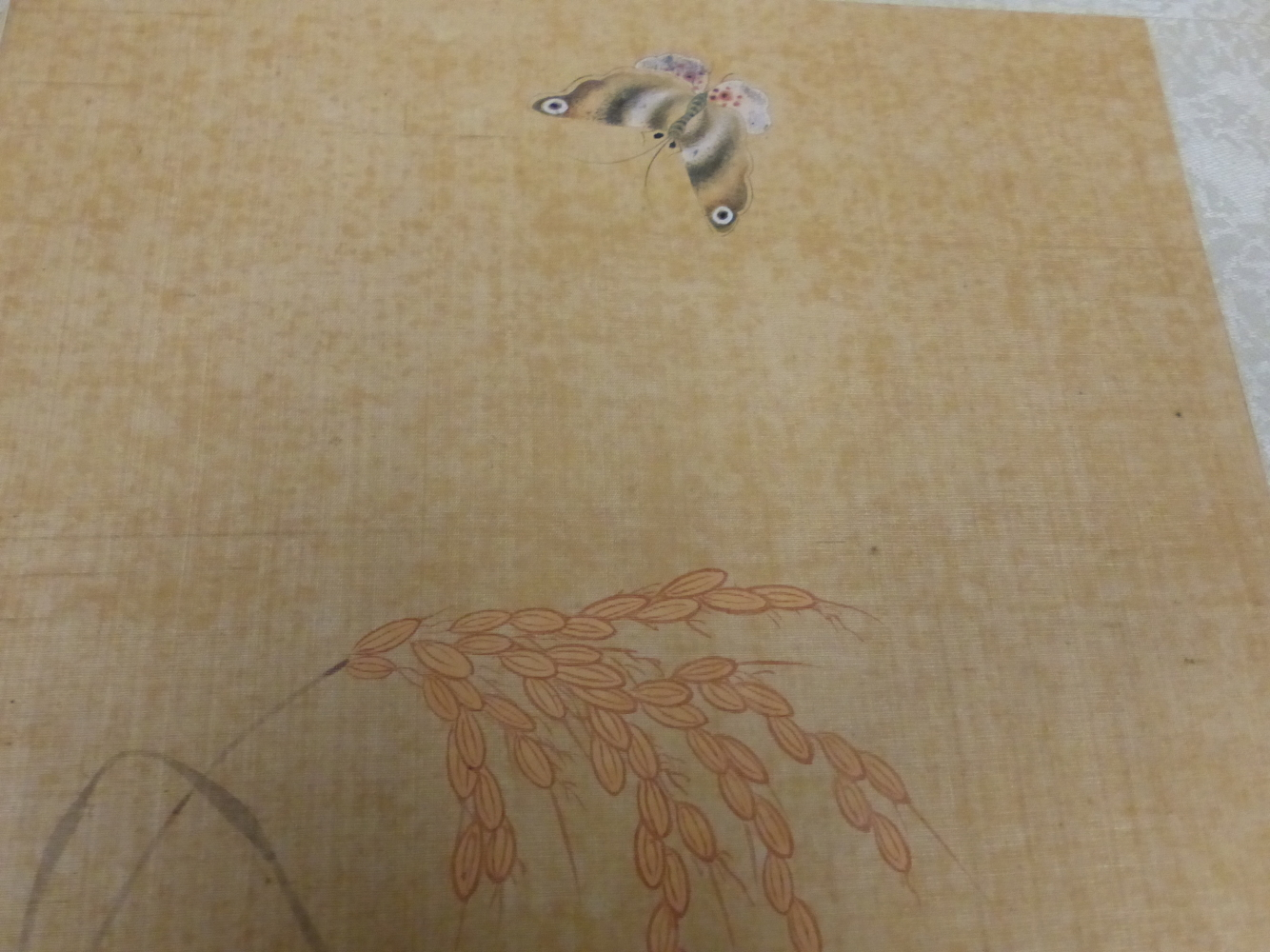 A CHINESE CONCERTINA BOOK OF EIGHT WATERCOLOURS ON SILK PAINTED WITH FLOWERS, BIRDS AND BUTTERFLIES, - Image 16 of 22