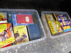 2 BOXES OF VINTAGE CHILDRENS BOOKS