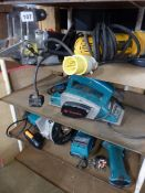 FIVE VARIOUS POWER TOOLS