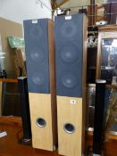 TWO PAIRS OF SPEAKERS AND A GRUNDIG TUNER