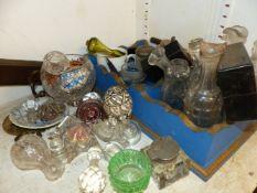 VARIOUS CHINA AND GLASSWARES