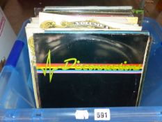 A QUANTITY OF LP RECORDS, POP AND EASY LISTENING