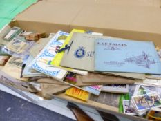 A LARGE COLLECTION OF CIGARETTE CARDS, MANY LOOSE SETS AND ALBUMS.