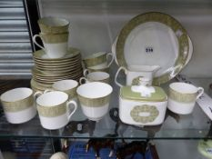 A ROYAL DOULTON SONNET PATTERN PART TEA AND COFFEE SERVICE