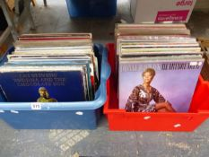 A COLLECTION OF POP LP RECORDS