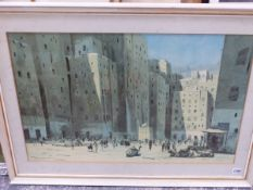 A VARIED COLLECTION OF ANTIQUE AND LATER PRINTS, PAINTINGS AND WATERCOLOURS, INCLUDING WORKS AFTER