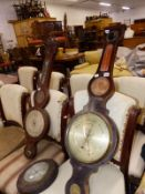 THREE BAROMETERS FOR SPARES.