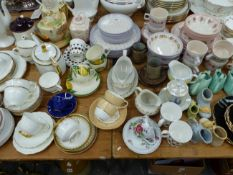 SUSIE COPPER, HORNSEA TOGETHER WITH OTHER TEA AND DINNER WARES