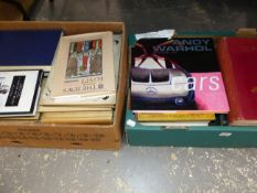 A QUANTITY OF BOOKS, ART, HISTORIES AND POETRY