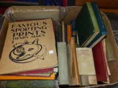 A QUANTITY OF BOOKS, MAINLY ANTIQUE AND FINE ART TEXTS