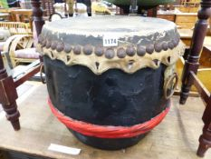 A JAPANESE DRUM.