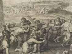A GROUP OF ANTIQUE PRINTS INCLUDING SOME AFTER THE OLD MASTERS SUBJECTS, SIZES VARY